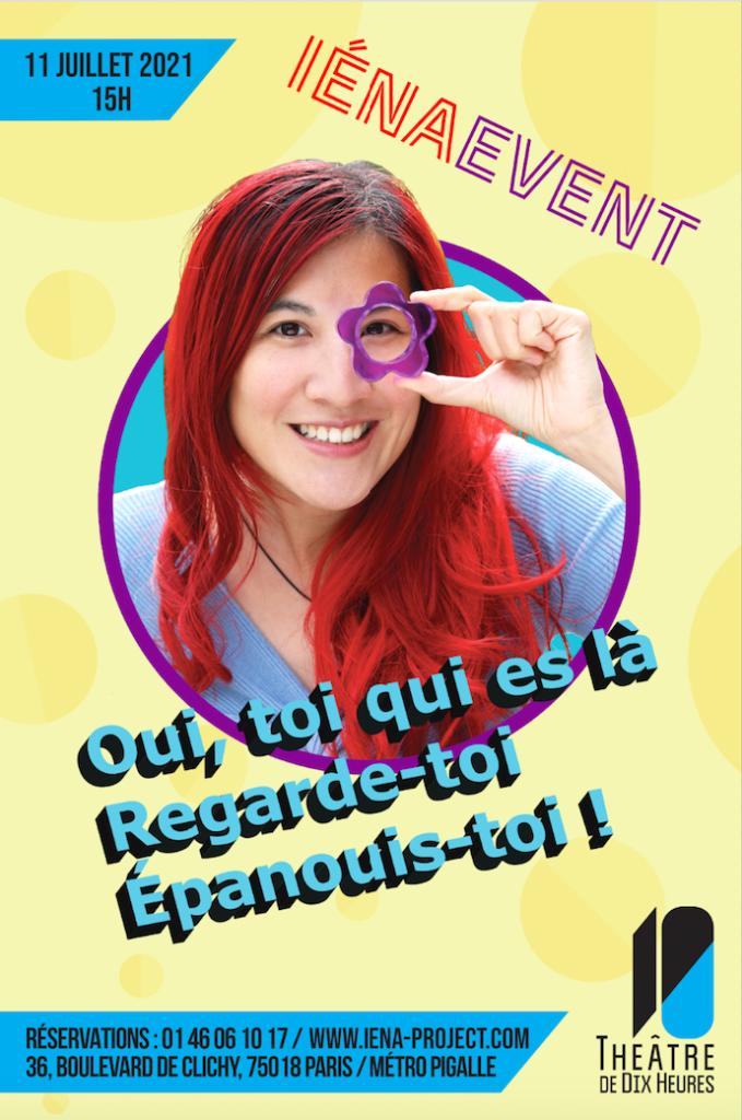 Affiche iéna event iéna project Théâtre Dix Heures